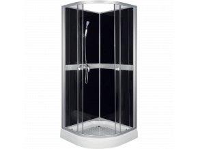 Sprchový box CLASSIC black 80x80 nebo 90x90