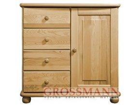 Grossmann Komoda masív borovice 03