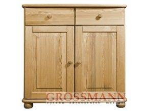 Grossmann Komoda masív borovice 04