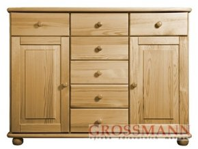 Grossmann Komoda masív borovice 17