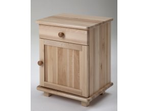 Grossmann Noční stolek masív buk kombi