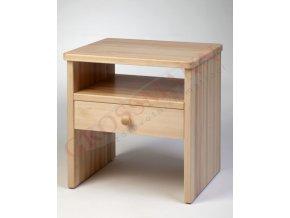 Grossmann Noční stolek masív buk W-1