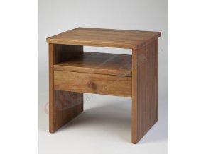 Grossmann Noční stolek masív buk/ořech W-1