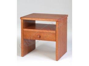 Grossmann Noční stolek masív buk/třešeň W-1