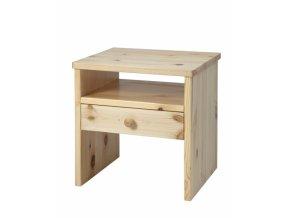 Grossmann Noční stolek masív borovice W-1