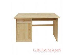Grossmann Psací stůl masív borovice B levý