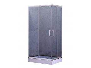 Sprchový kout NIKIDO JUNA PLUS 100x80x200