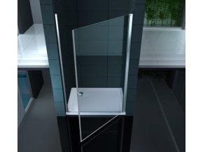 Sprchové dveře ARBO Pravé sklo čiré 80x195 nebo 90x195