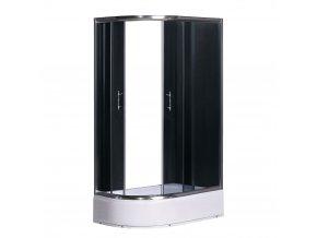 Sprchový kout NIKIDO PRESTIGE PLUS 120x80x200 pravá