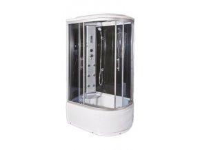 Sprchový a masážní box VENECIE levá 120x85