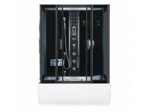 Sprchový a masážní box s vanou  XL 151x86x215