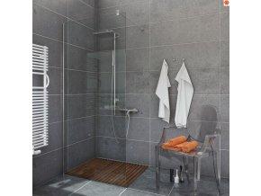 Sprchový kout NIKIDO WALK IN 251  80x200, 90x200, 100x200, 120x200, 140x200