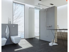 Sprchový kout NIKIDO WALK IN 252  100x200, 120x200, 140x200