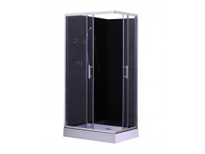 Sprchový box  LIVIE black 100x70