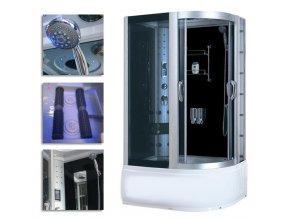 Sprchový box 9912 120x85x215  levý - SAUNA