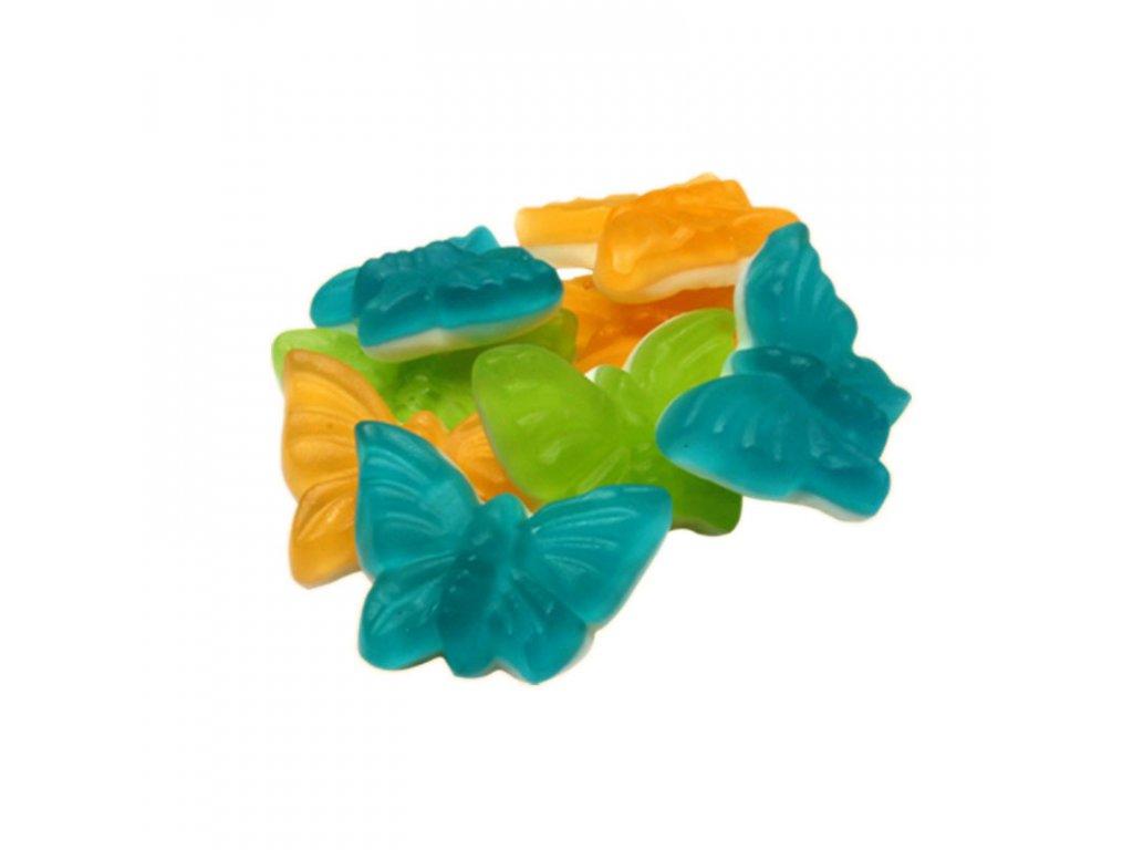 Ovocní motýlci želé 1000g