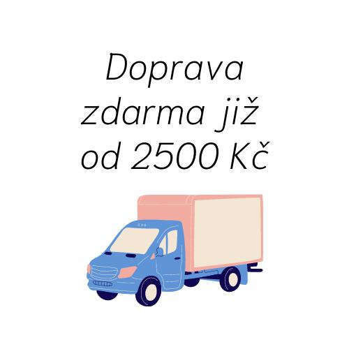 Doprava zdarma již od 2500 Kč