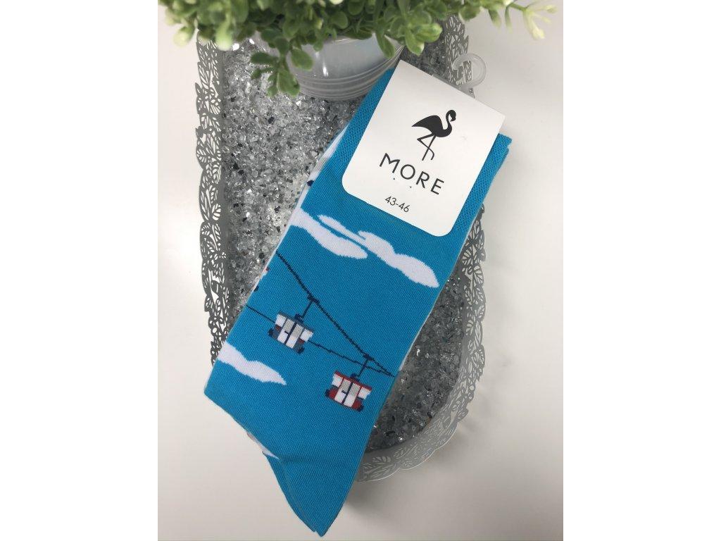 Pánské ponožky More (Barva Světle modrá, Velikost 39-42)