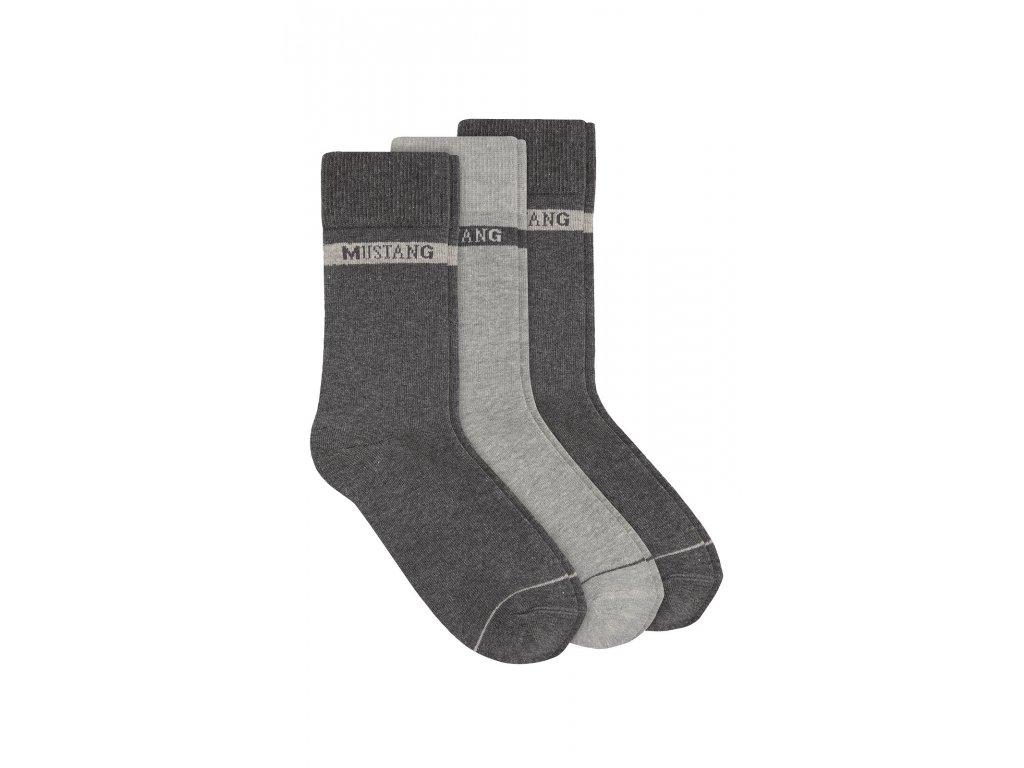 Pánské ponožky Mustang (Barva Černá, Velikost 43-46)