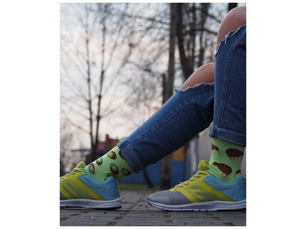 Ponožky KIWI Spox Sox (Barva Zelená, Velikost 40-43)