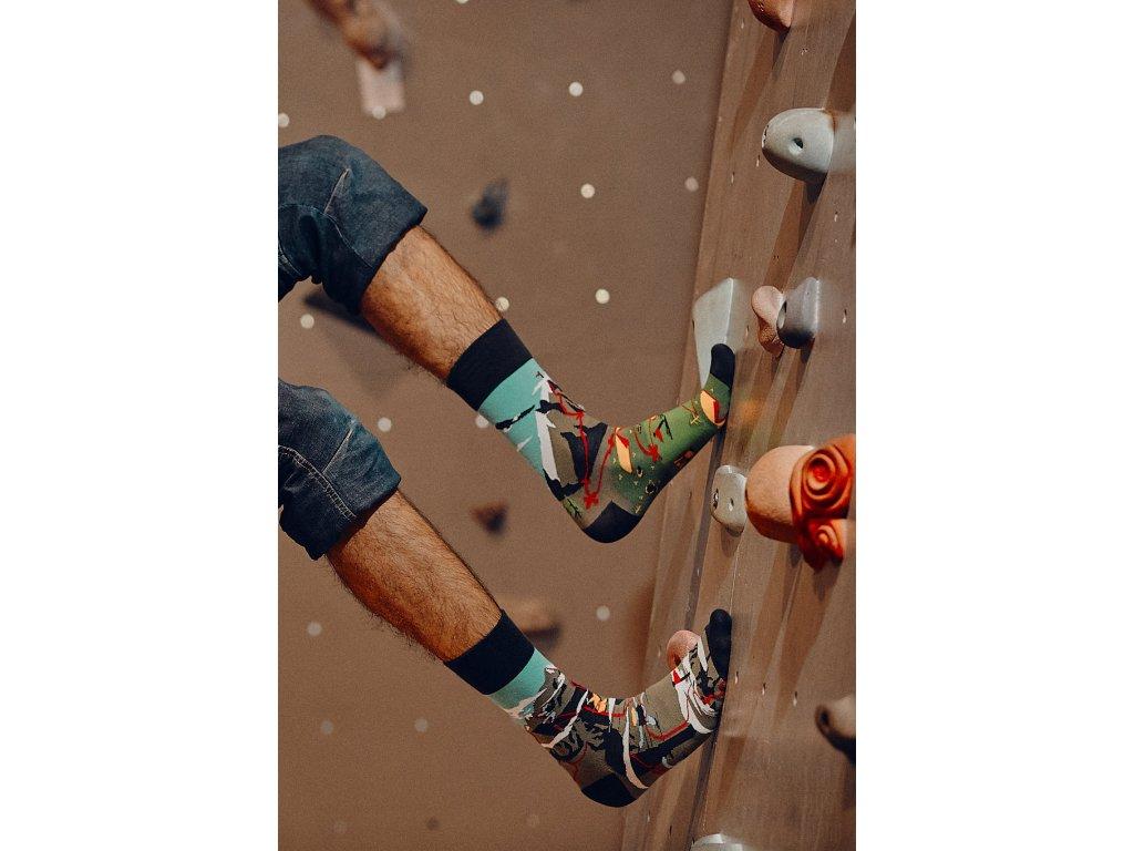 Ponožky HOROLEZEC Spox Sox (Barva Modrá, Velikost 36-39)
