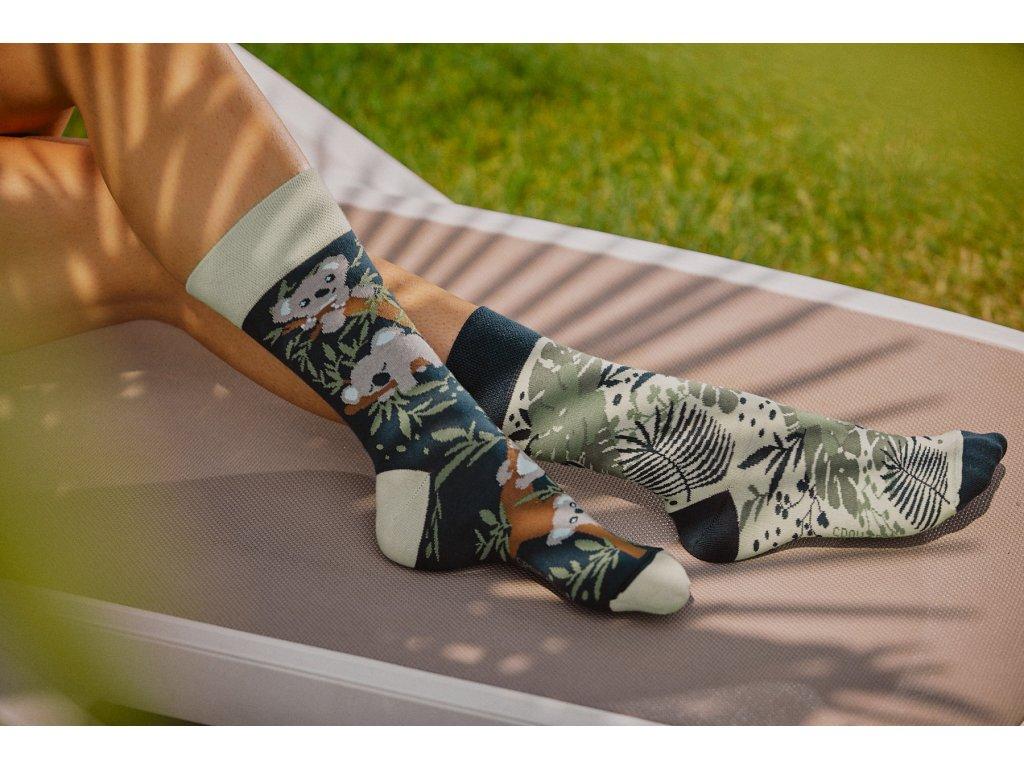 Ponožky KOALA Spox Sox (Barva Zelená, Velikost 44-46)