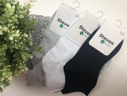 Dámské bambusové ponožky (Barva Bílá, Velikost 38-40)