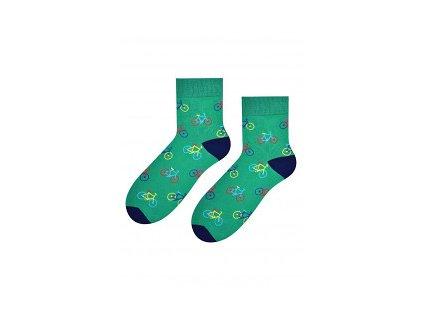 Chlapecké ponožky Steven (Barva Zelená, Velikost 35-37)