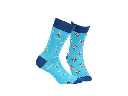 Pánské ponožky Wola (Barva Modrá, Velikost 35-38)