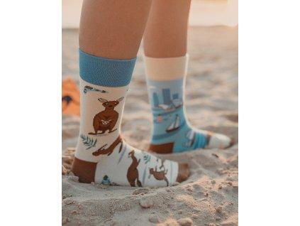 Ponožky KLOKANI Spox Sox (Barva Hnědá, Velikost 36-39)