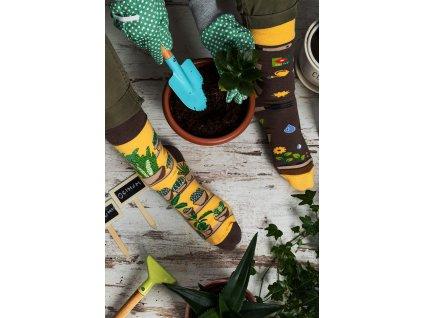 Ponožky ZAHRADNÍK Spox Sox (Barva Žlutá, Velikost 40-43)