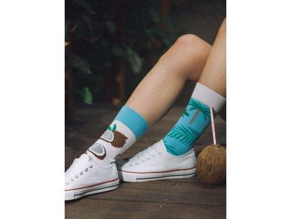 Ponožky KOKOS Spox Sox (Barva Modrá, Velikost 40-43)