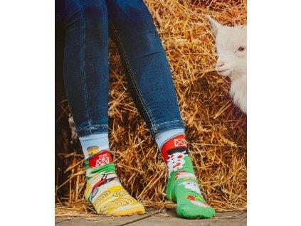 Ponožky FARMA Spox Sox (Barva Žlutá, Velikost 36-39)