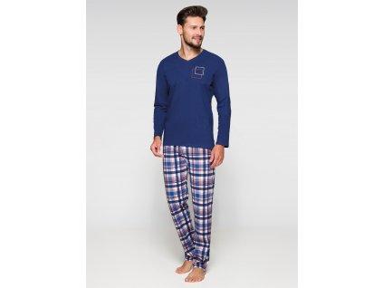 Pánské pyžamo Regina Paris (Barva Modrá, Velikost L)