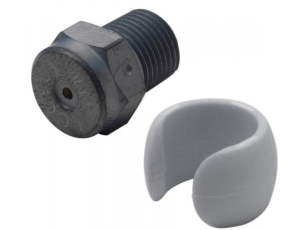101119738 Nozzle 0400 Metal grey
