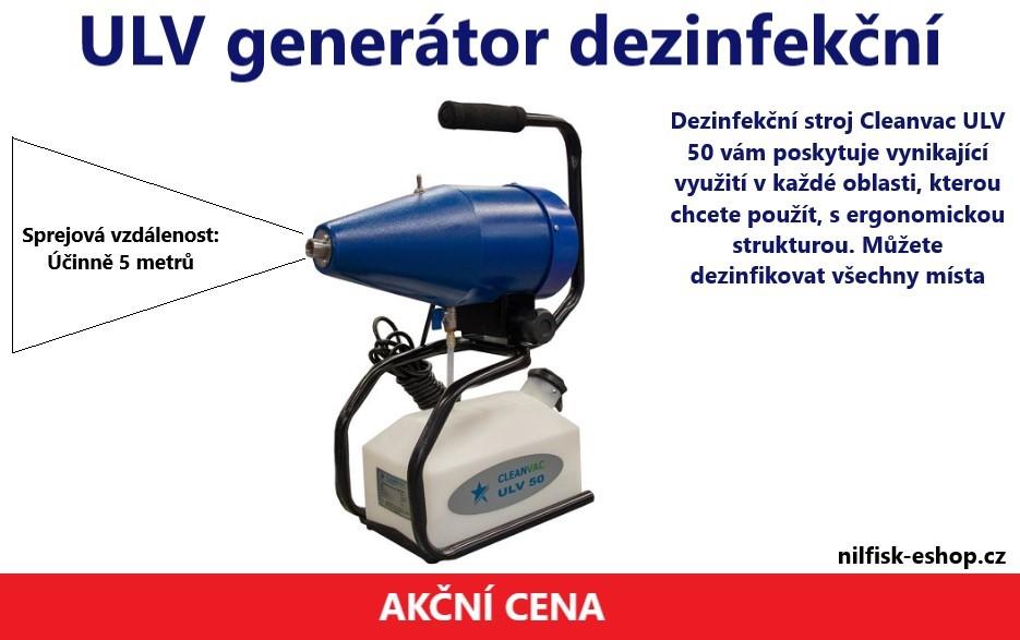ULV generátor dezinfekční mlhy