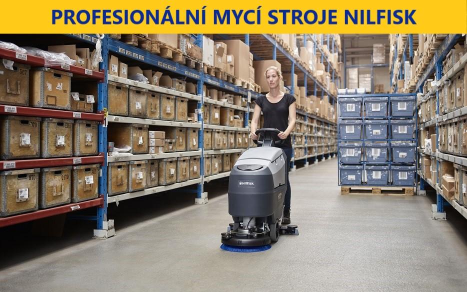 Profesionální mycí stroje Nilfisk