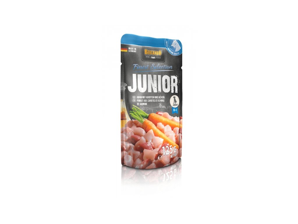 Junior chicken with carrots