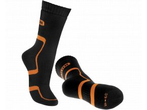 BNN TREK SOCK Black-orange