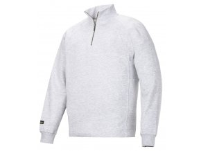 Mikina s MP, na 1/2 zip Snickers Workwear