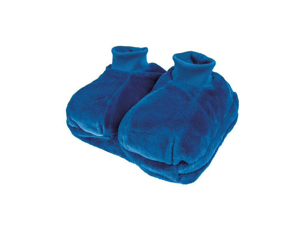 Termofor gumový  2 litry, v obalu na nohy (Barva béžová)