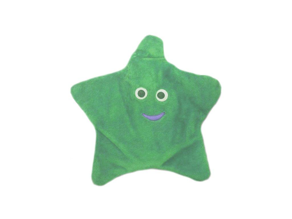 Termofor gumový  0,8 litrů, v obalu hvězdy