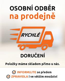 Prodejna Horní Počernice - vše skladem