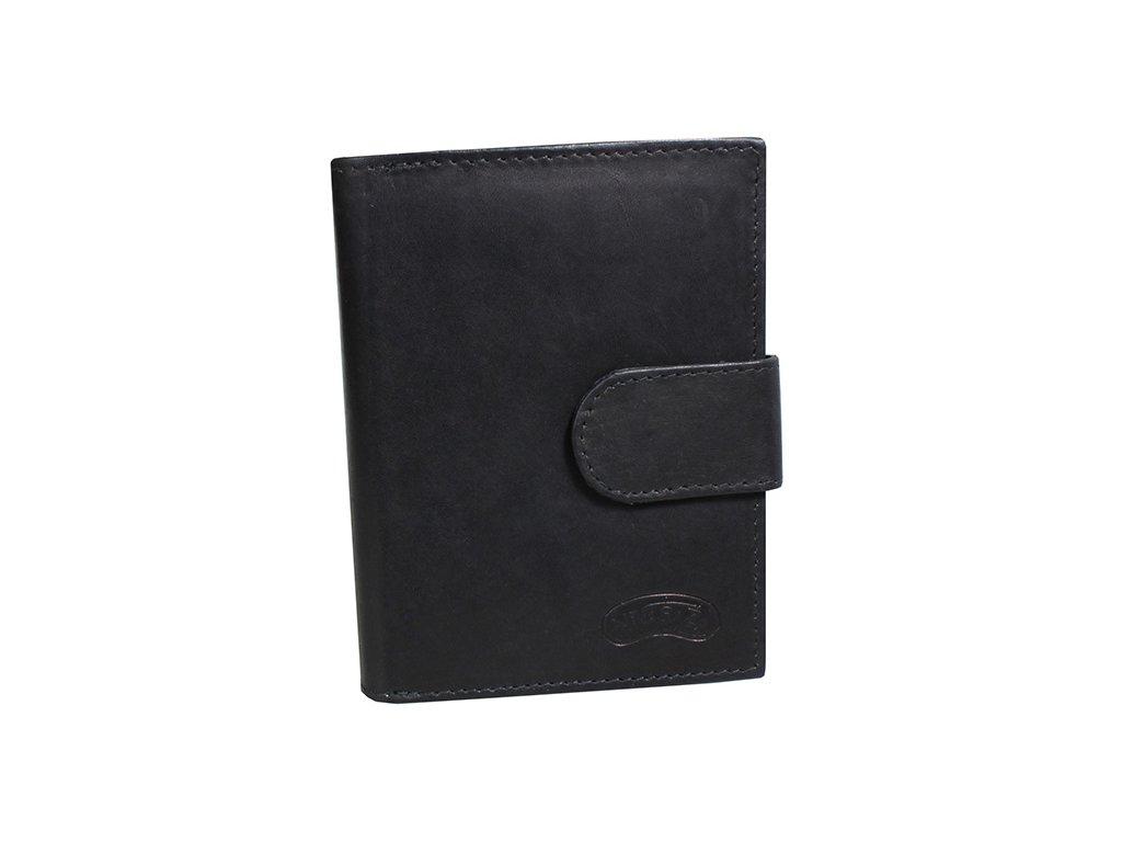Dámská kožená peněženka Nivasaža N6-MTH-B černá