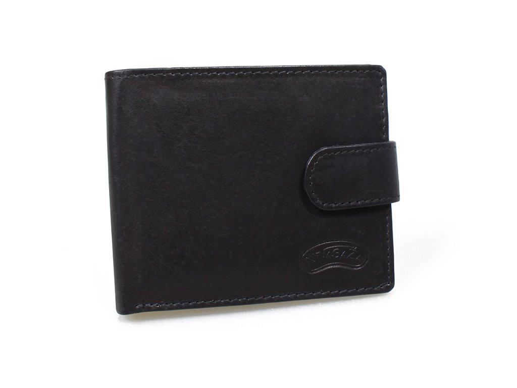 Kožená peněženka Nivasaža N19-MTH-B černá
