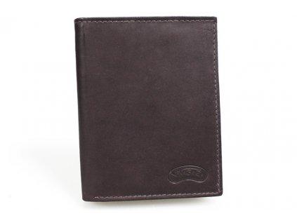 Pánská kožená peněženka Nivasaža N1-MTH-BR hnědá