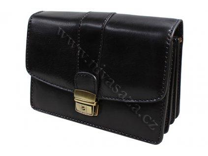 Pánská kožená etue KAT68120-B černá
