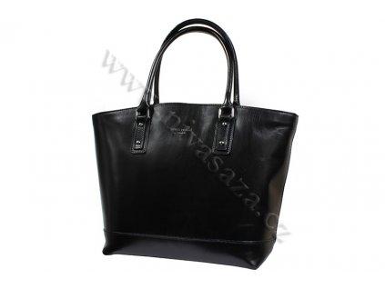 Dámská kožená kabelka ITA3658-B černá