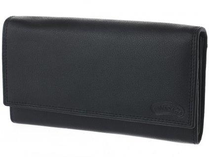 Dámská kožená peněženka Nivasaža N7-DMD-B černá