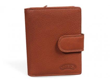 Dámská kožená peněženka Nivasaža N6-SNA-BR hnědá